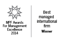 Best Managed International Firm 2014
